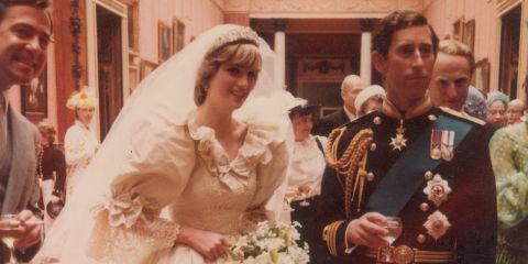 Princess Diana & Charles - Wedding Cake