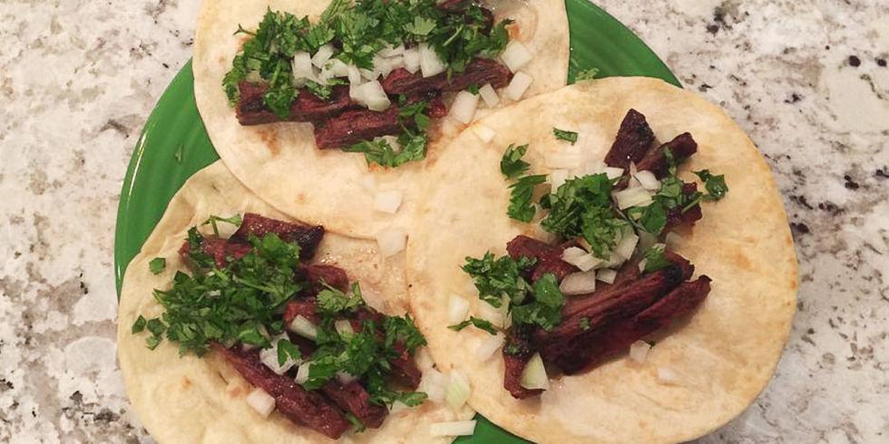 Best Marinated Skirt Steak Tacos Recipe-How to Make Marinate..