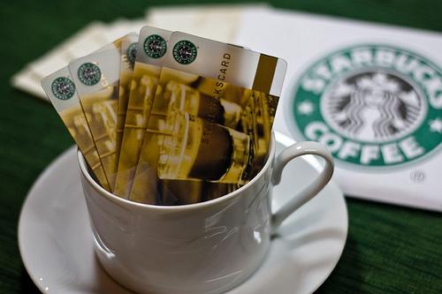 Starbucks sells out its 200 gift cards starbucks swarovski gift courtesy of starbucks negle Images
