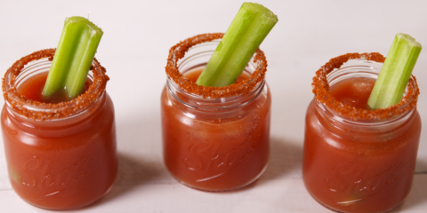 Bloody Mary Shooters