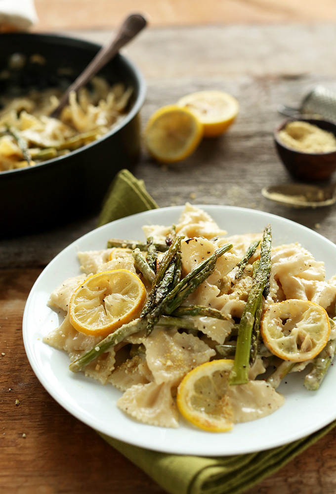 Recipe for pasta dishes