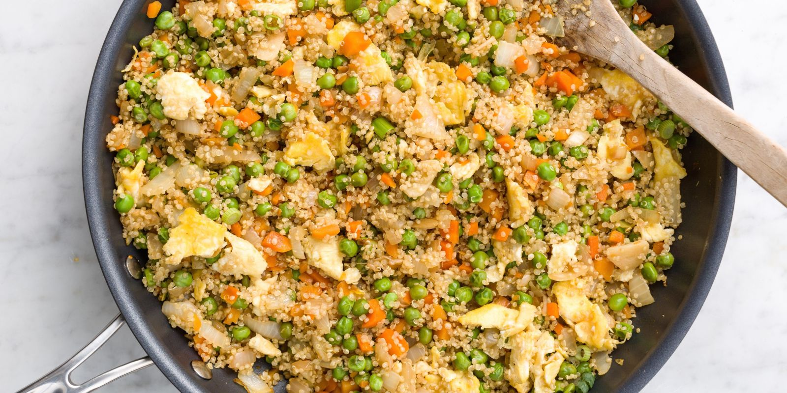 Best Quinoa Fried Rice Recipe - How to Make Quinoa Fried Rice