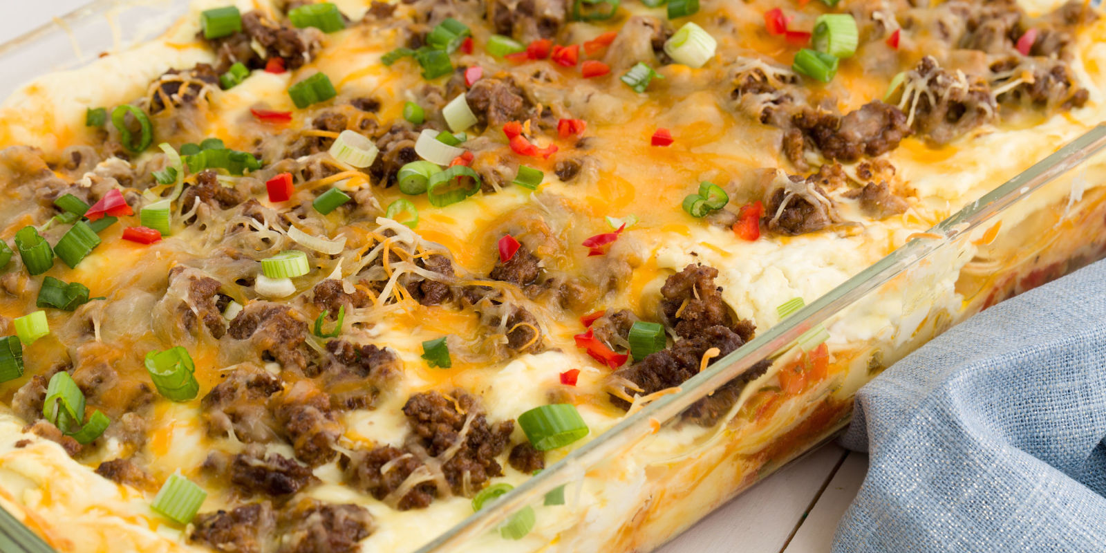 Best Cheesy Taco Lasagna Recipe