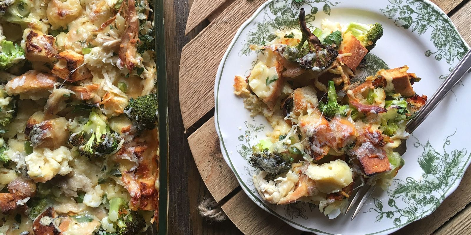 best chicken and broccoli strata recipe-how to make chicken and