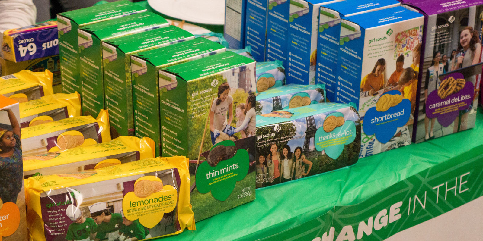 girl scout cookie cereal is happening