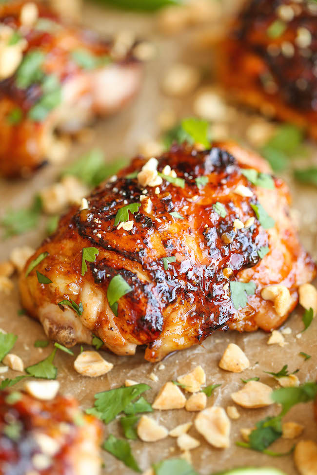 Recipe and chicken and asian
