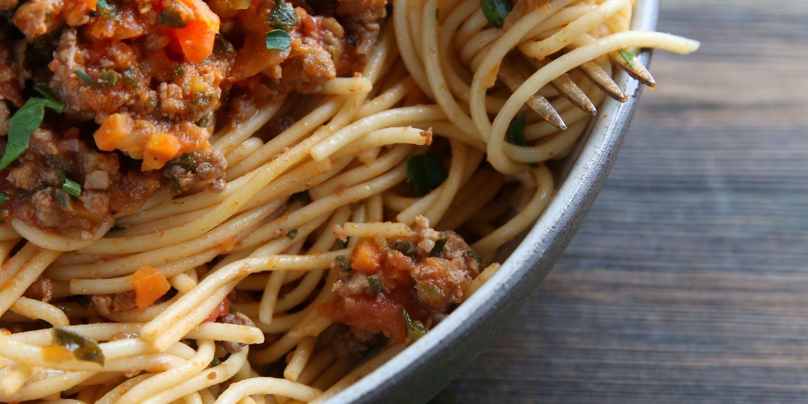 Best Sausage and Kale Ragu over Spaghetti Recipe-How to Make Sausage ...