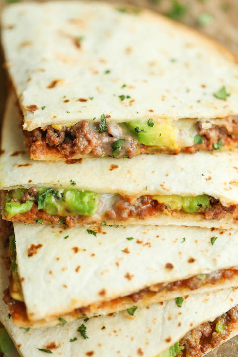 how to make easy quesadillas