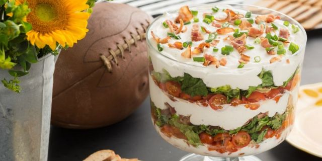 blt dip valentines day appetizers