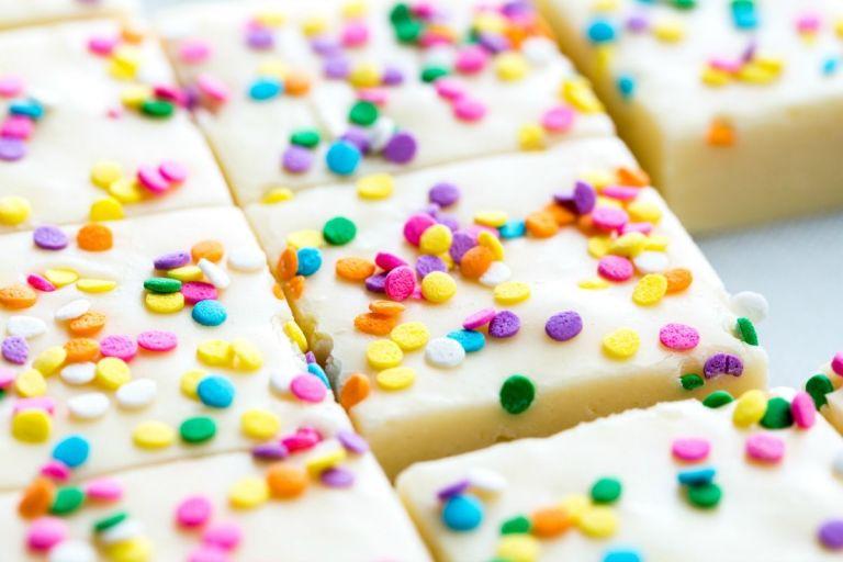 Birthday Cake Fudge Delish