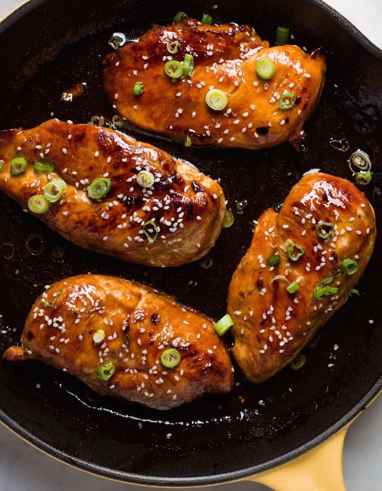 how to make honey garlic chicken breast