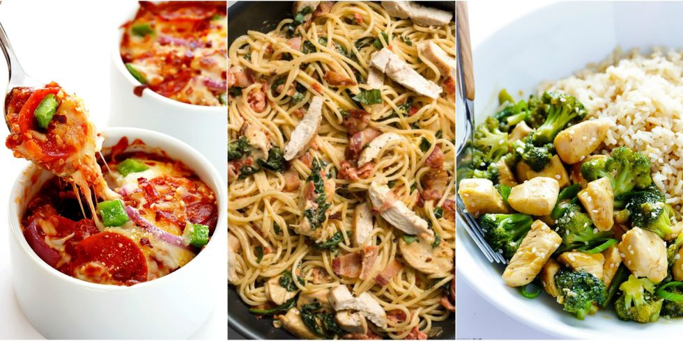 20 Quick Easy Dinner Ideas