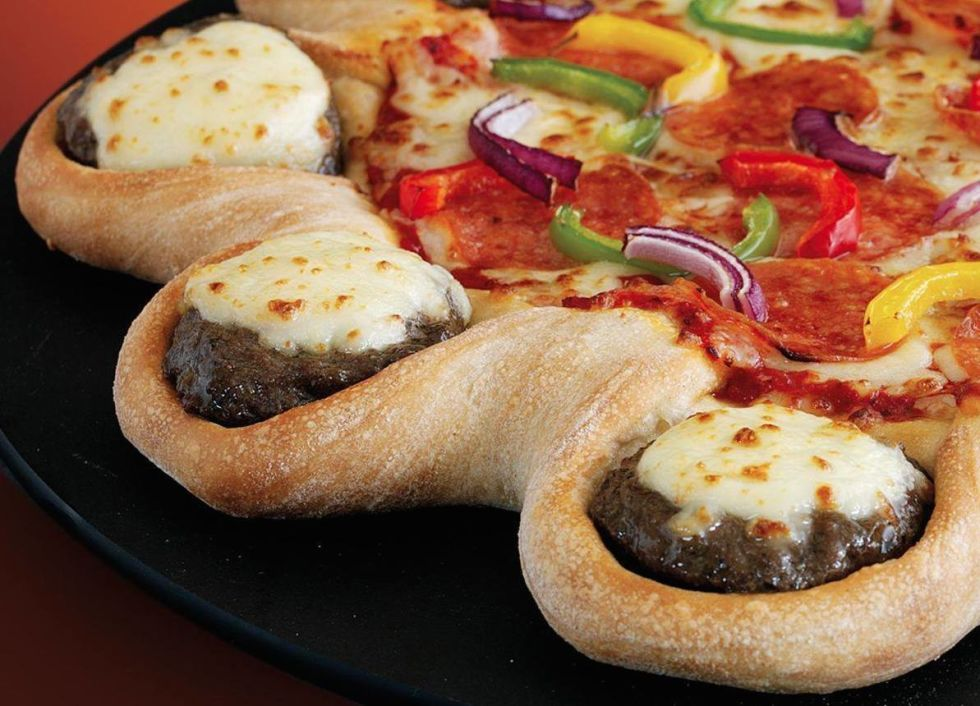 The Craziest Things That Pizza Hut Has Ever Created