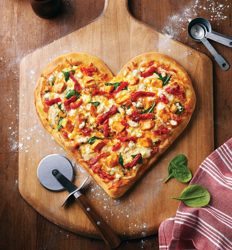 where to get heart-shaped pizza a.k.a. the best valentine's gift ever, Ideas