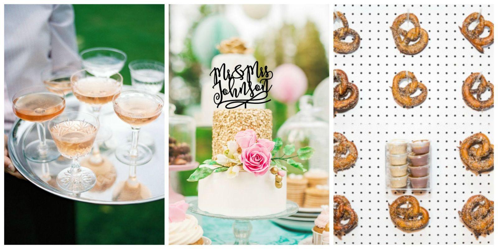 wedding food ideas wedding reception menu recipes