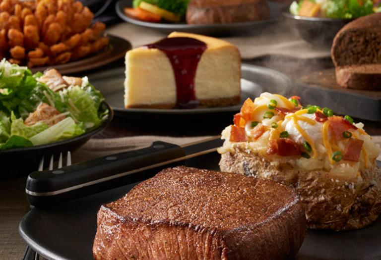 Outback Steakhouse Valentine Dinner