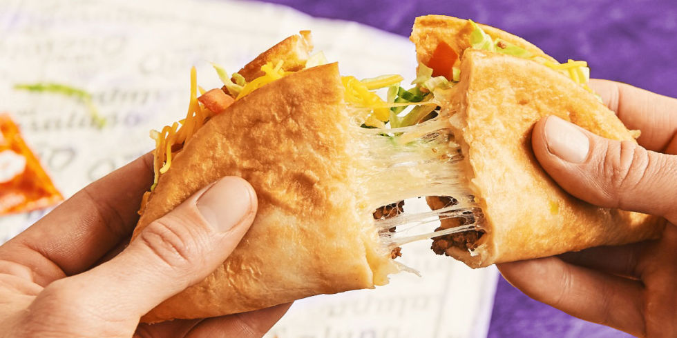 Taco Bell Releases New Quesalupa - Cheesy Taco Shells Combine ...