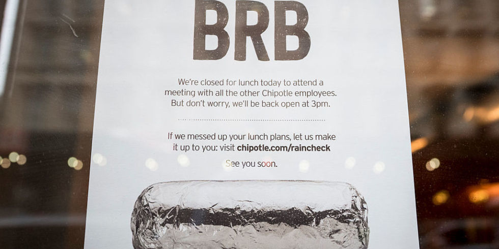 Another Chipotle Location Has Closed For Norovirus