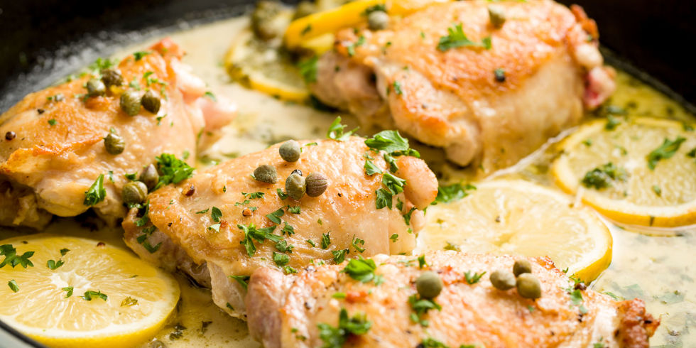 Easy lemon chicken piccata recipe with capers how do you make easy skillet chicken piccata ccuart Gallery