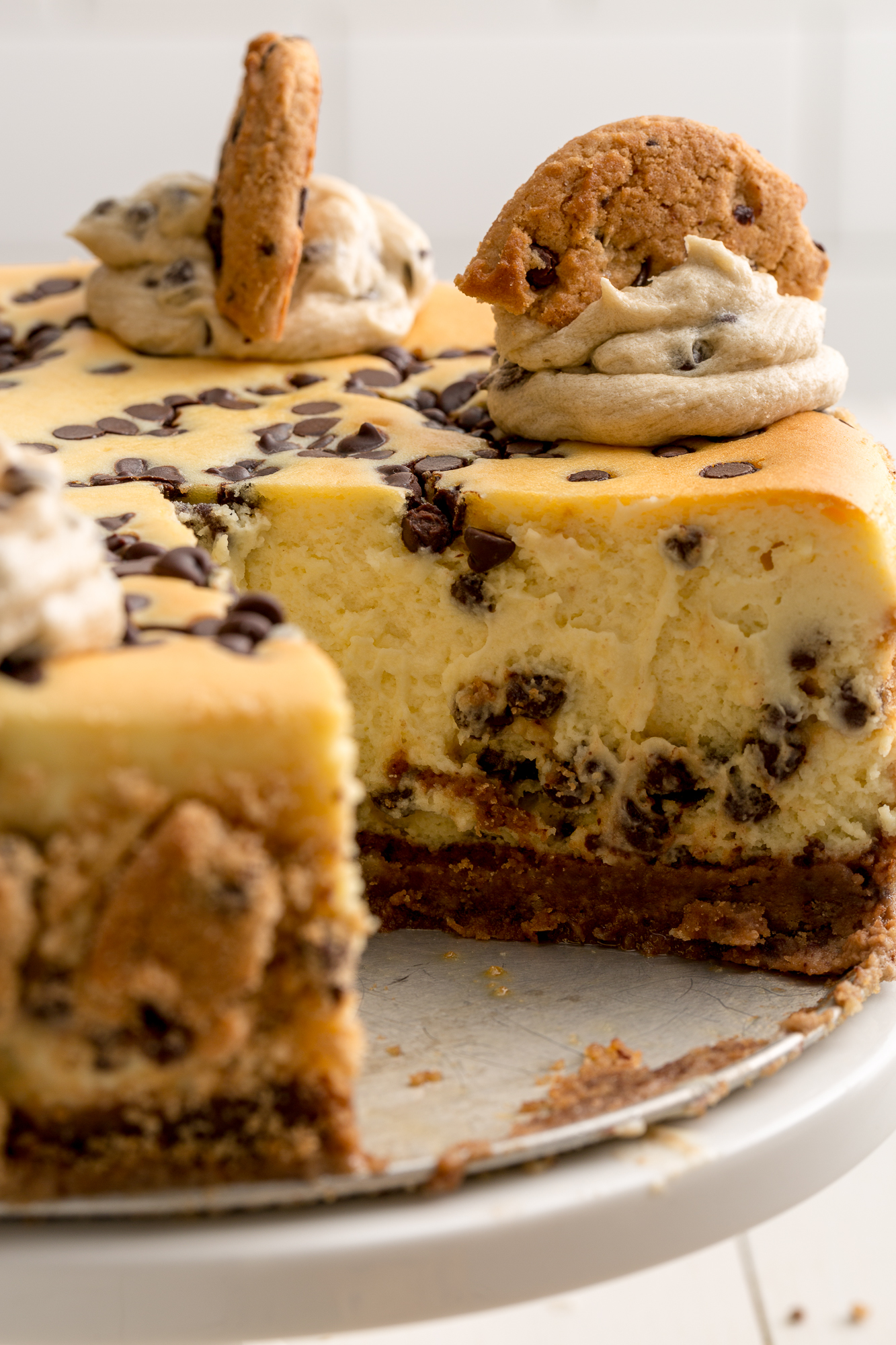 Best Chocolate Chip Cookie Cheesecake Recipe - How to Make ...
