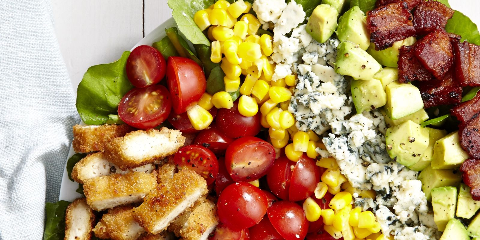 Best Breaded Chicken Cobb Salad Recipe How To Make