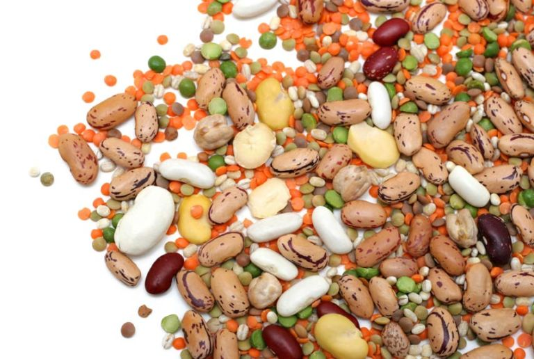 beans lentils chickpeas peanuts