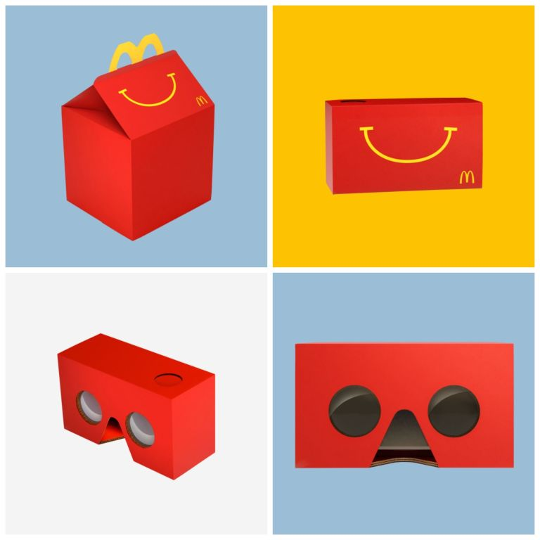 Très The Coolest McDonald's Happy Meal Toy is Now the Box Itself YI71