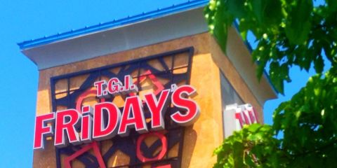 TGI Fridays Sign