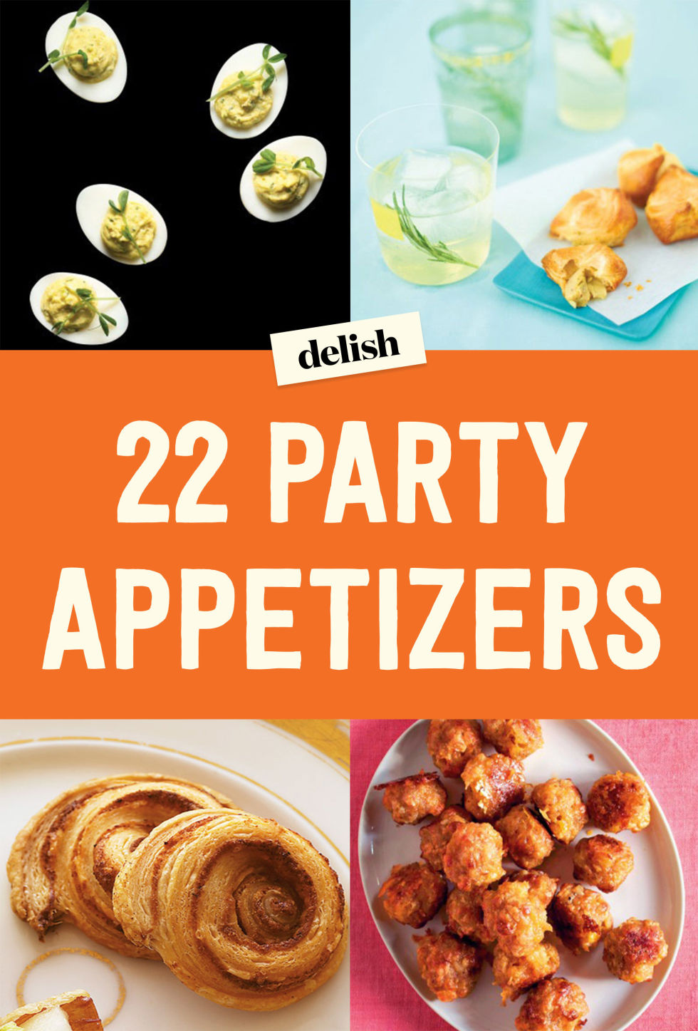 82 appetizer recipes with pictures and procedures hot for Easy cocktail recipes for parties