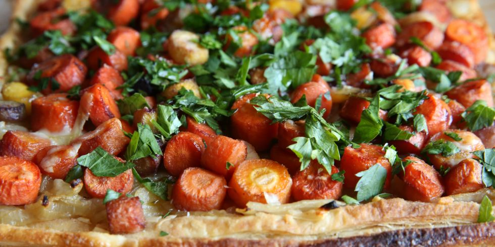 Recipe For Caramelized Carrot And Onion Tart