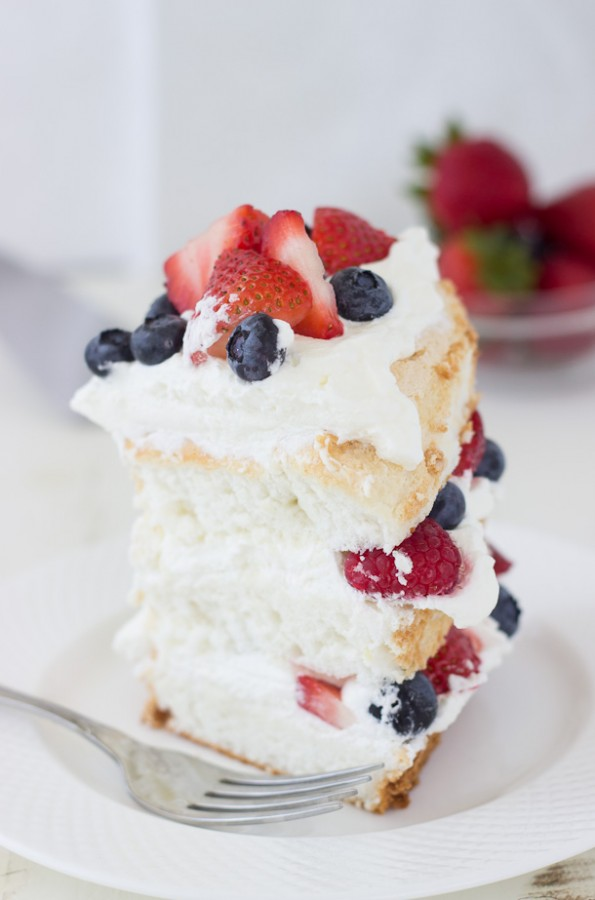 Easy angel food cake dessert recipes food channels recipes easy angel food cake dessert recipes forumfinder Images