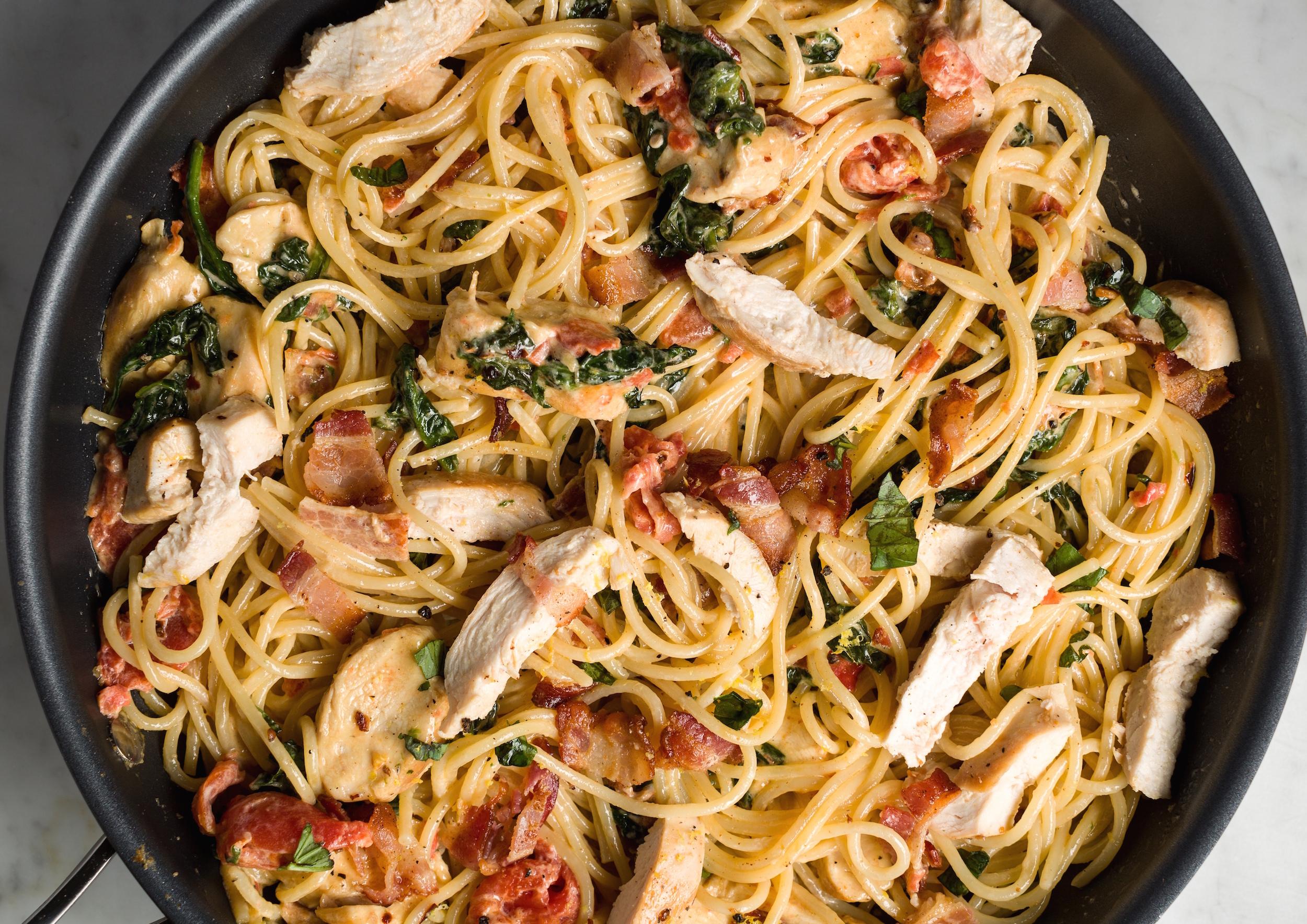 Tuscan Chicken Pasta Italian Chicken Pasta