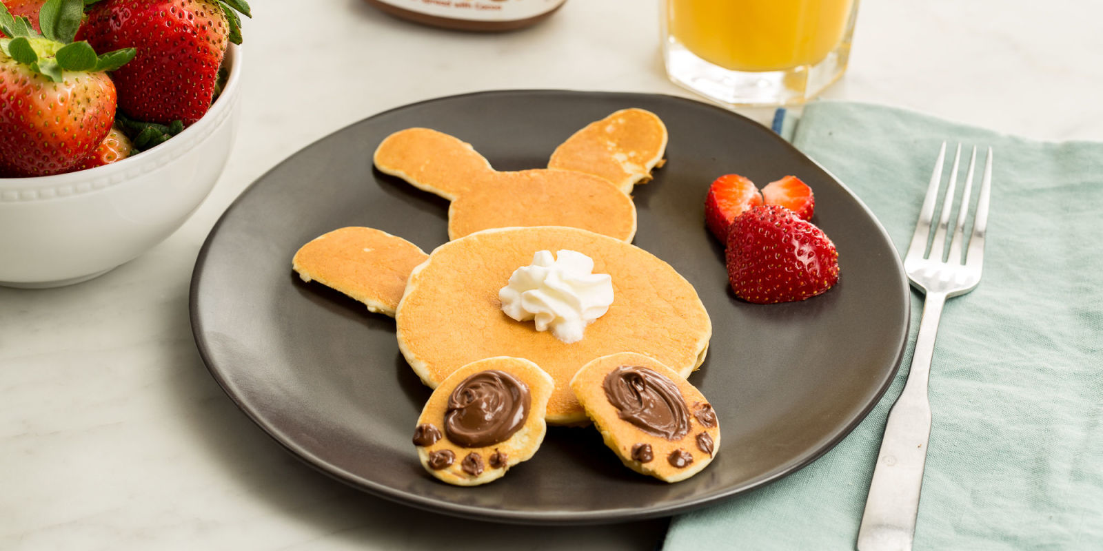 Peter Cottontail Pancakes Best Easter Breakfasts