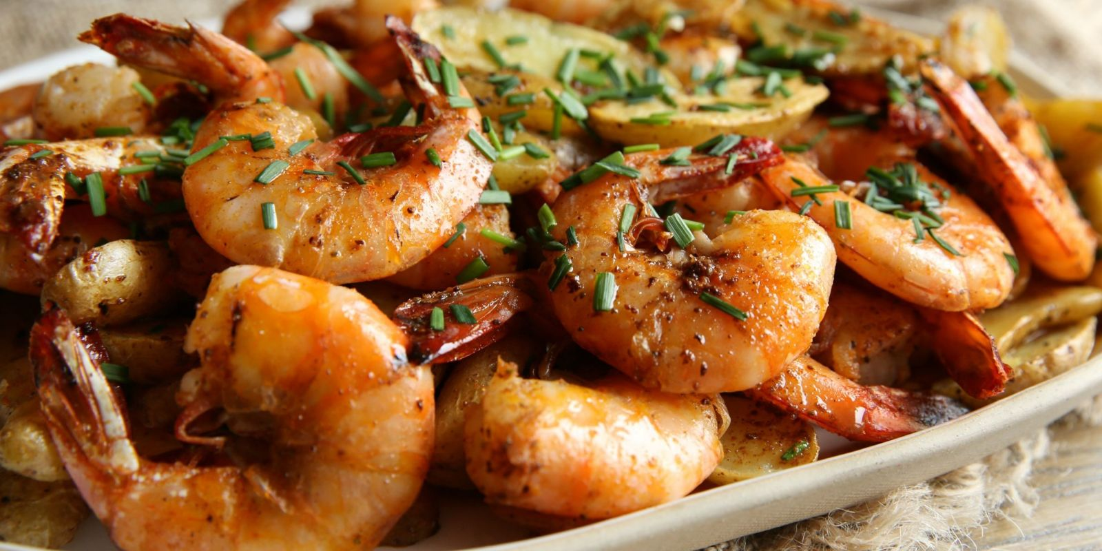 Old Bay Peel And Eat Shrimp With Roasted Fingerling Potatoes Recipe Delish  Old Bay Peel And
