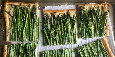 Asparagus and Chive Tart