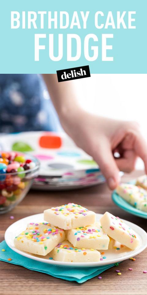 Best Birthday Cake Fudge Recipe How to Make Birthday Cake Fudge