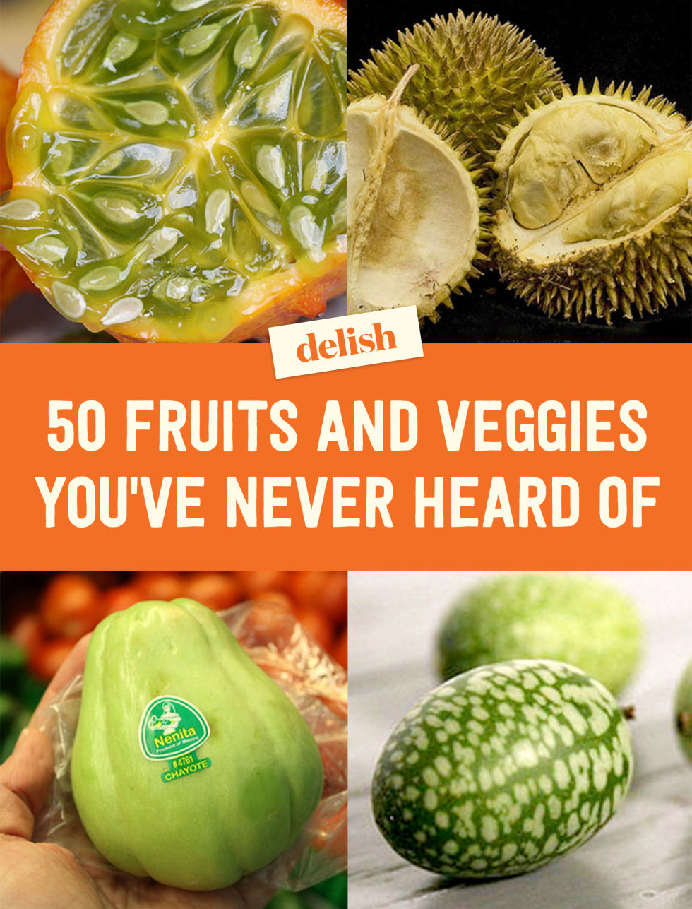 Exotic Fruits And Vegetables   Different Uncommon Fruits And Vegetables