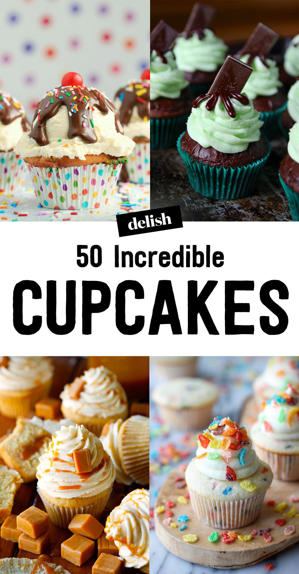 70+ Easy Cupcake Recipes From Scratch  How To Make Homemade Cupcakes   Delish