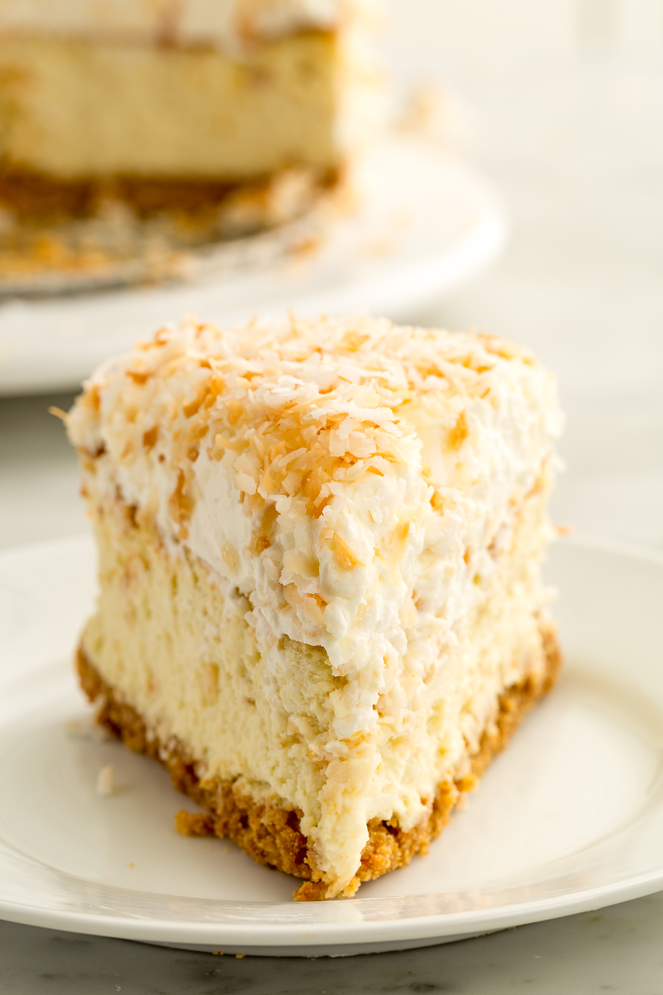 coconut cheesecake delish desserts dessert summer recipes treats easy recipe cakes easter toasted sweet ll winter party food cake goals