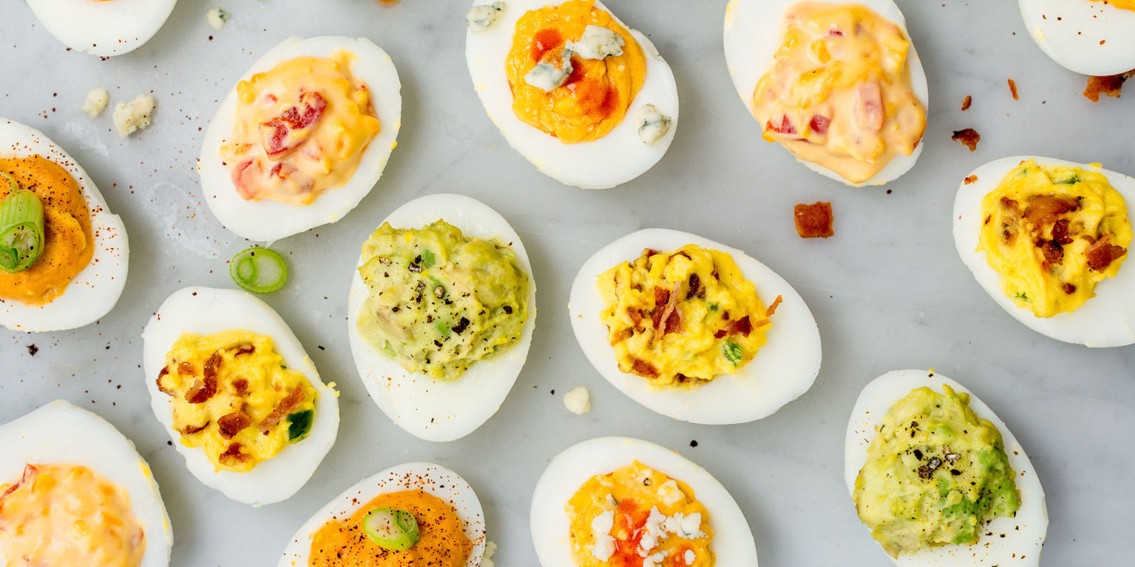 Easy Deviled Eggs Recipes - How to Make Deviled Eggs ...