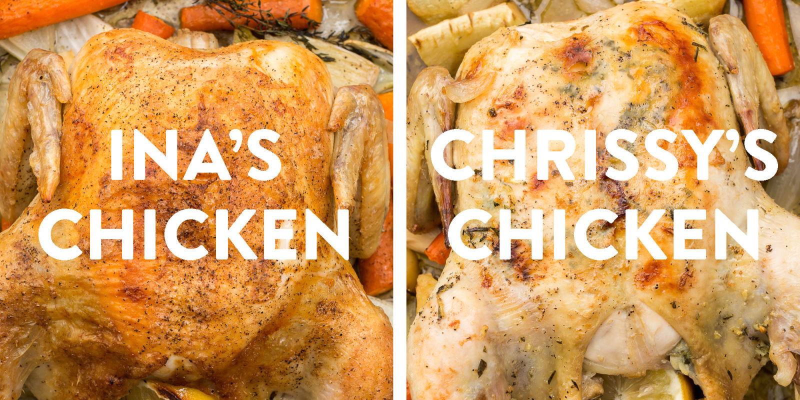 Ina garten v chrissy teigen roast chicken Ina garten chicken casserole recipes