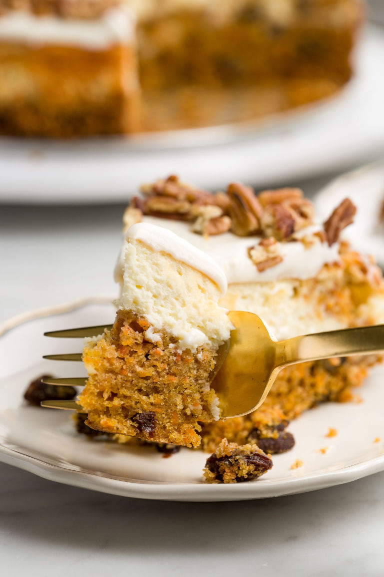 Carrot Cake Cheesecake Beats Regular Carrot Cake Every Time