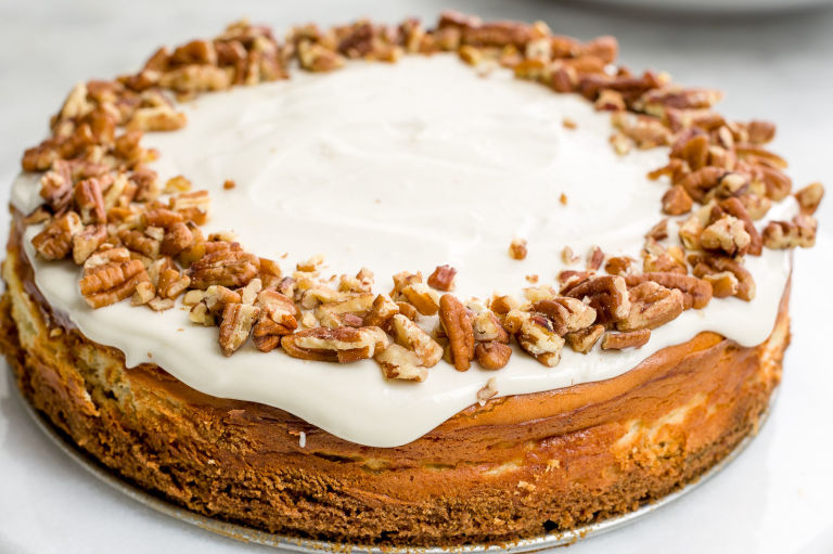 Ethan Calabrese Most Popular So The Base Of Carrot Cake Cheesecake