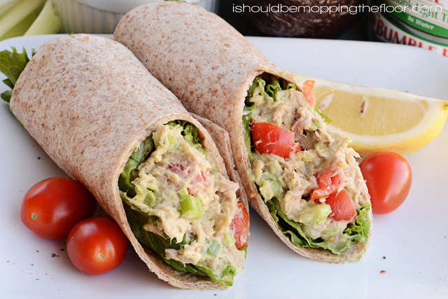 Recipes for easy wraps