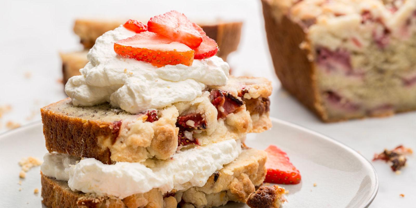 Lindsay Funston Best Strawberry Shortcake Banana Bread Recipe How To