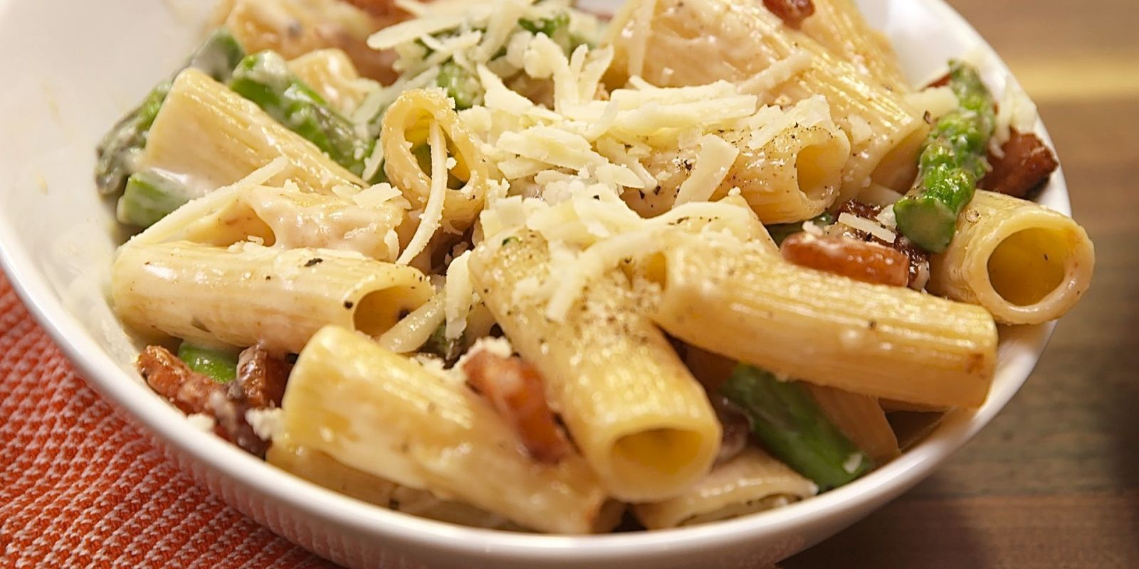 Best Bacon Asparagus Pasta - How to Make Bacon Asparagus Pasta