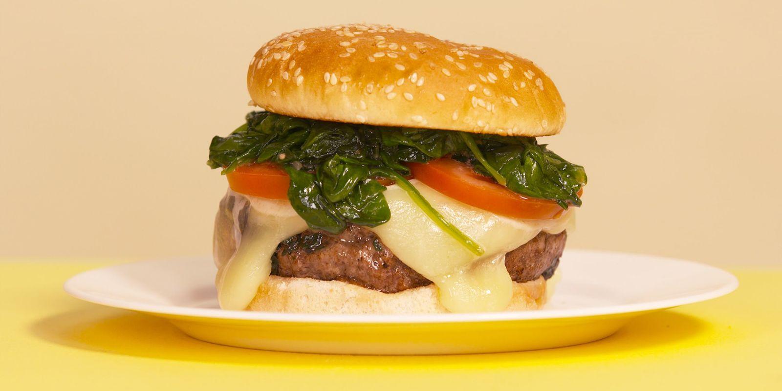 Bob S Burgers Sit And Spinach Burger Recipe Delish Com