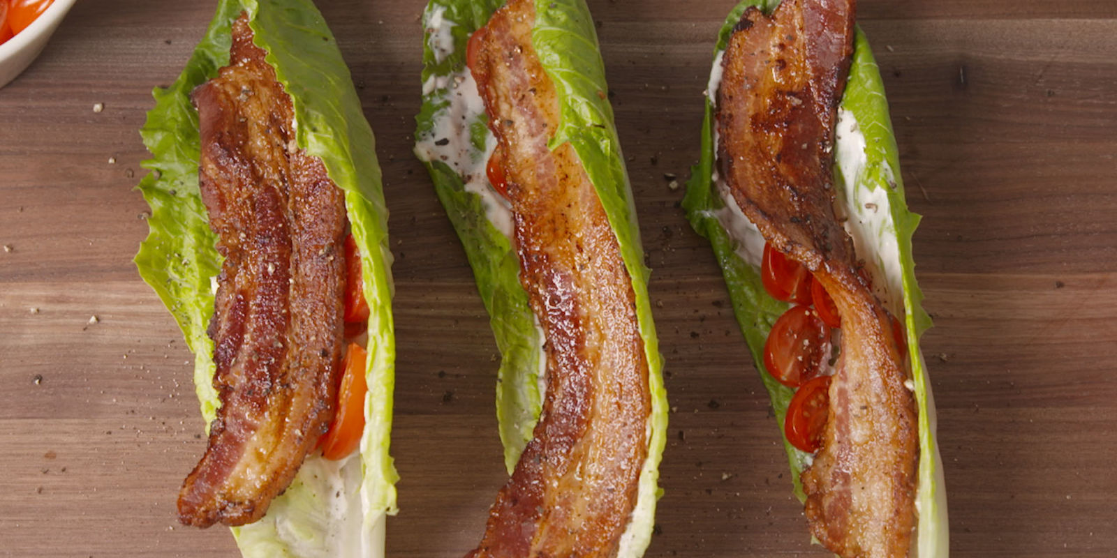 Go Straight For The Good Stuff With This No-Carb BLT