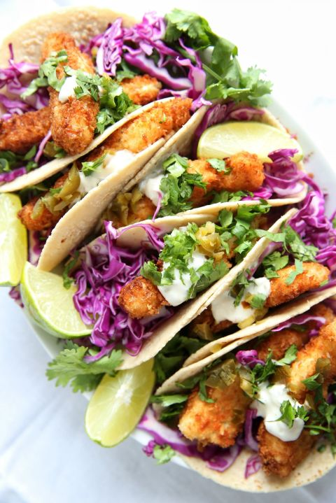 Insanely easy weeknight dinners to try this week for Fish stick tacos
