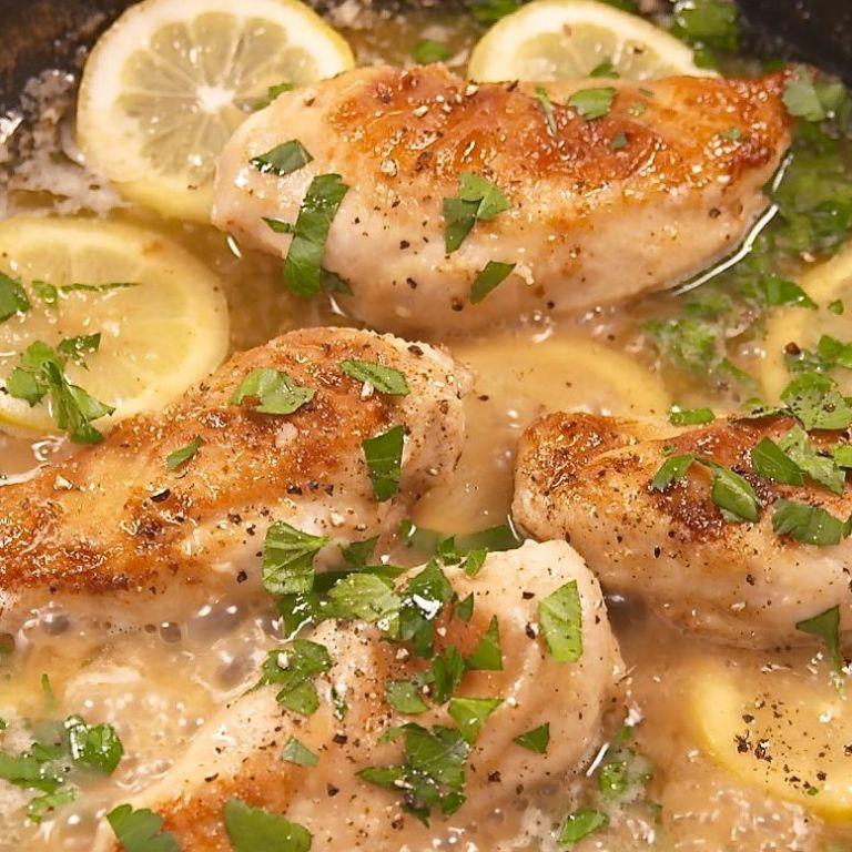 Best Lemon Garlic Chicken